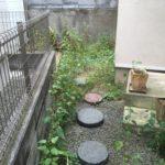 庭の雑草は厄介ですよね・・草むしりが面倒なので自分で防草シートを敷いてみました。